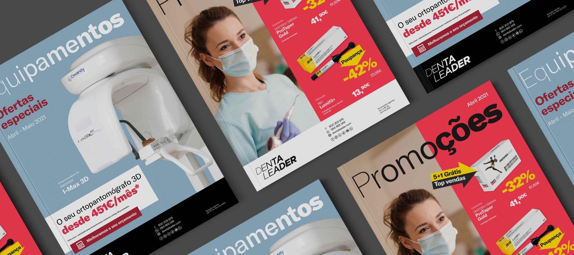Oferta de produtos Dentaleader